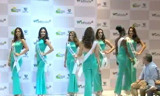 Fueron presentadas las candidatas a Señorita Valle 2016