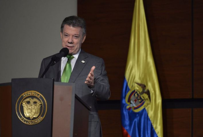 Favorabilidad de Juan Manuel Santos cayó al 21 por ciento