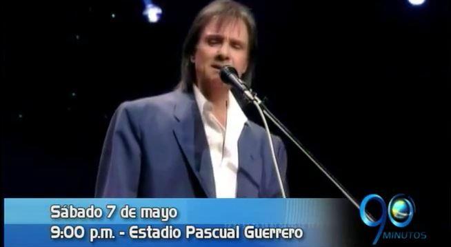 Concurso de 90 Minutos para concierto de Roberto Carlos