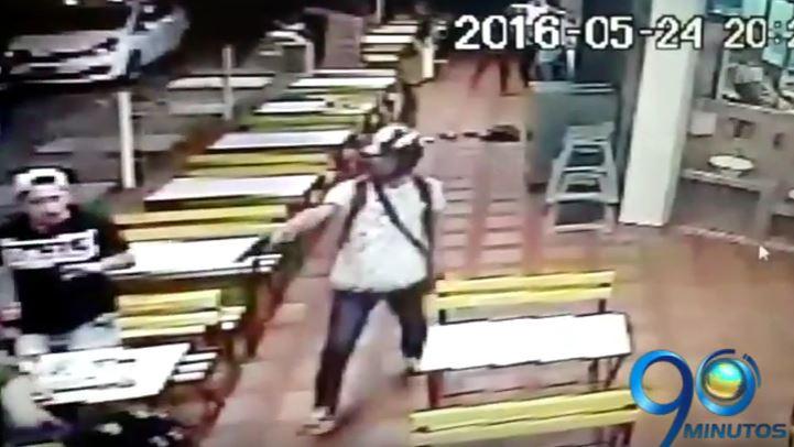 En video: susto tras robo masivo en el sur de Cali