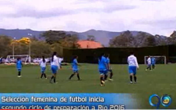 Selección Colombia Femenina inicia su ciclo de preparación de cara a Río
