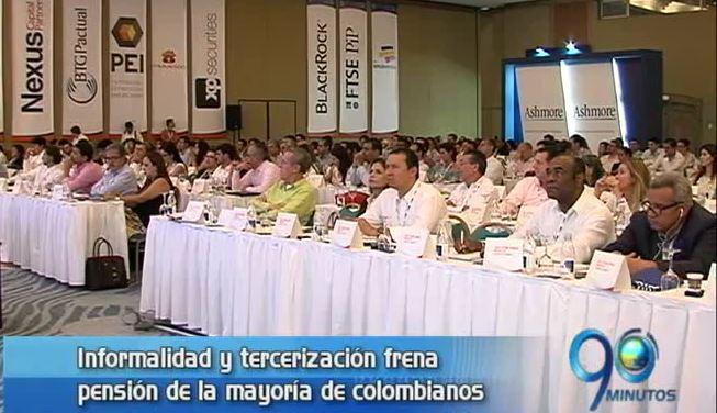 Informalidad y tercerización frena derecho a pensión de colombianos