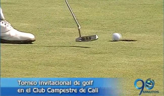 Figuras nacionales del golf estarán en Cali en torneo invitacional