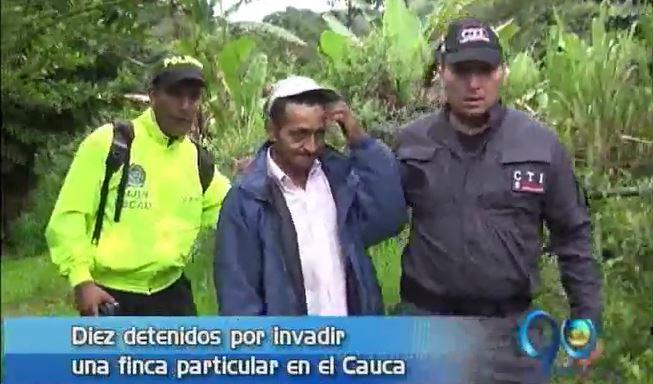 Fueron capturadas 10 personas sindicadas de torturar a desplazados