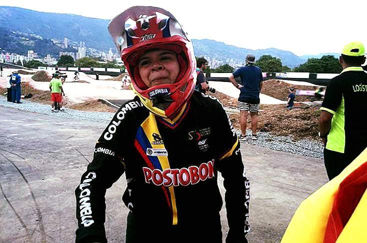 La caleña Valentina Velásquez es campeona del mundial en BMX
