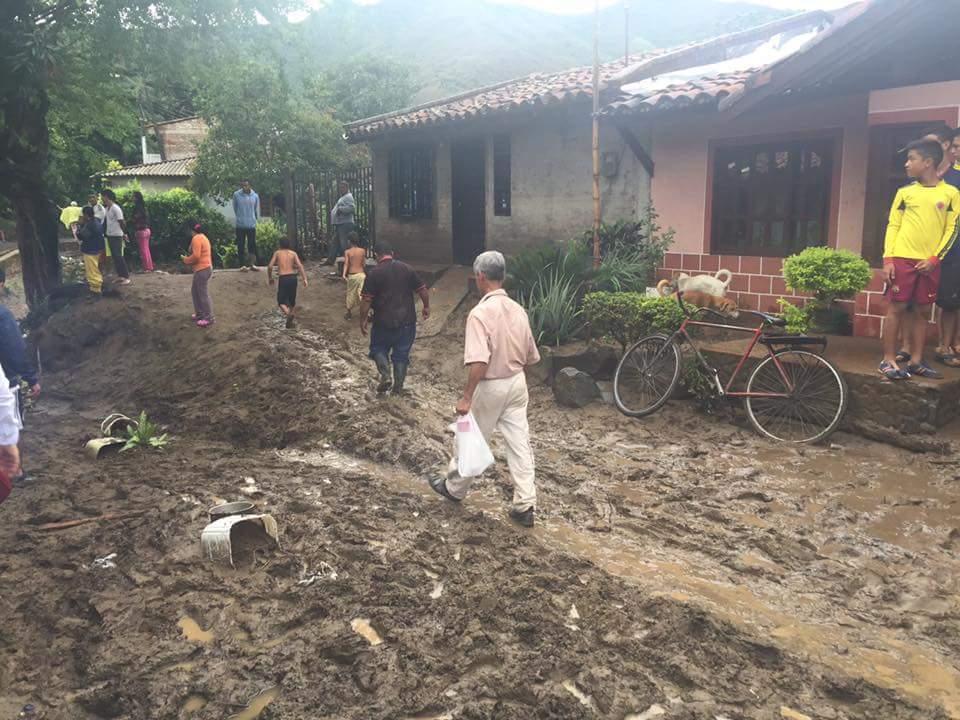 Lluvias generaron emergencias en Yotocó y otros municipios