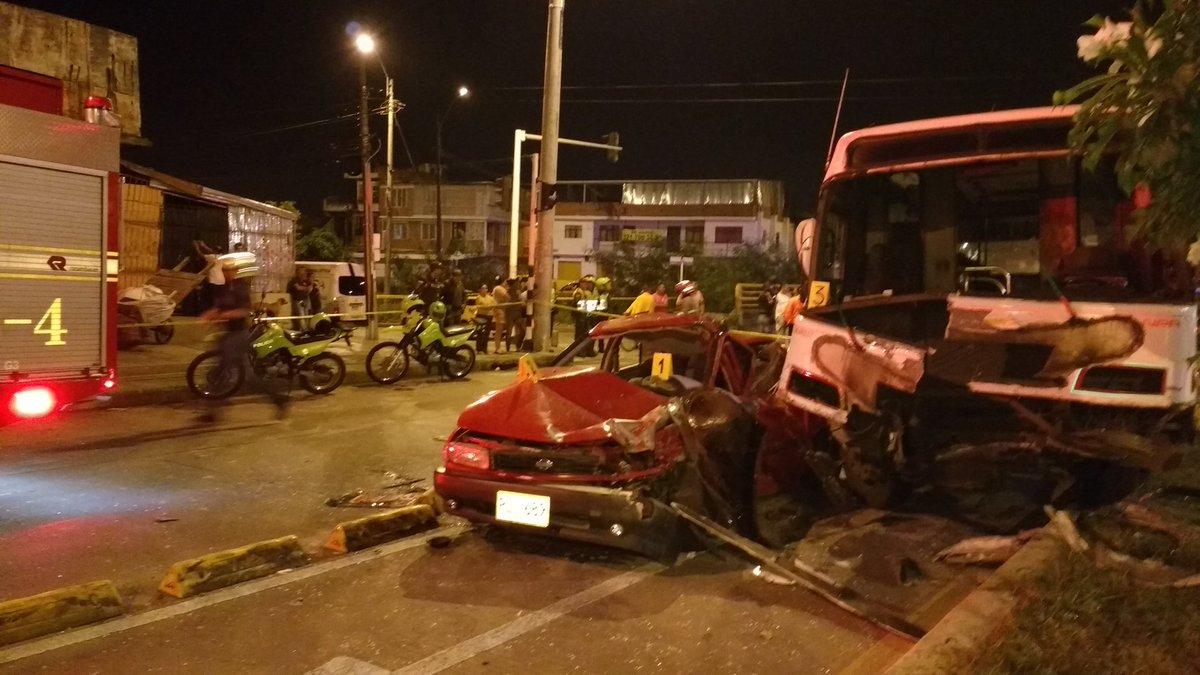 Un hombre fallece en accidente de tránsito al oriente de Cali