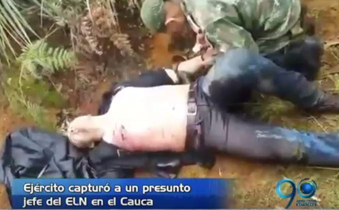 Enfrentamientos del Ejército y el ELN dejó la captura de alias Oso Panda