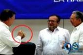 El 'balígrafo', el símbolo de la nueva paz en Colombia