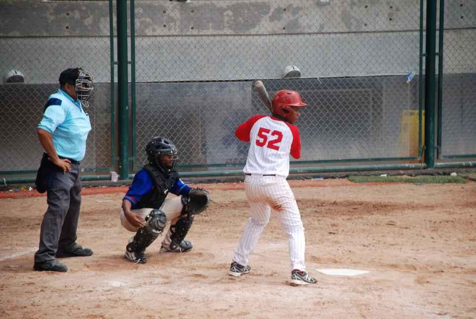 Valle mantiene su clasificación en Campeonato de Béisbol Sub 14