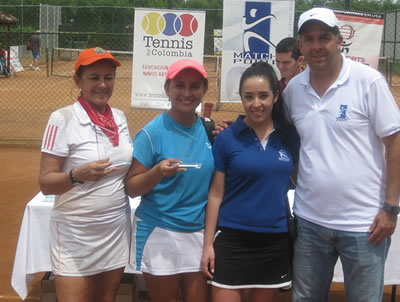 Tenistas nacionales se preparan para la 'Copa Santiago de Cali', en julio