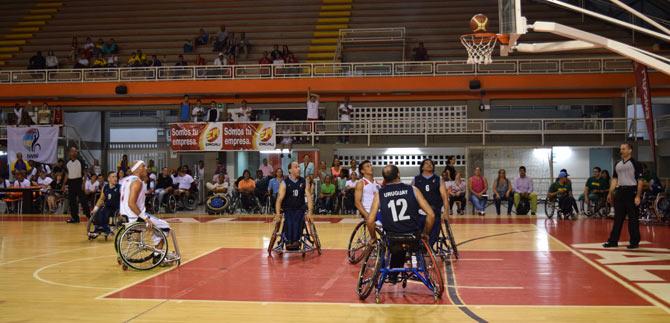 Inició en Cali sudamericano de baloncesto en silla de ruedas