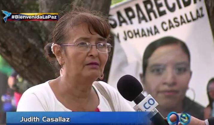 Una exguerrillera pide a las Farc conocer el paradero de su hija