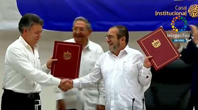 Gobierno y Farc firmaron acuerdo para fin de conflicto armado