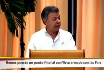 Estas fueron las voces de la firma del fin del conflicto en Colombia