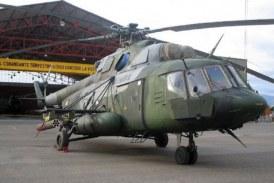 Helicóptero del Ejército sufrió accidente, al parecer por fallas mecánicas