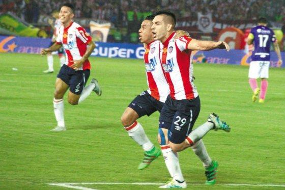 Junior y Medellín empatan 1-1 en el partido de ida de la final de la Liga