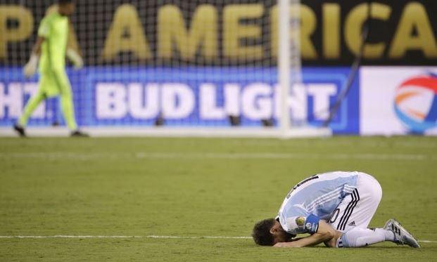 El penal, las lágrimas y el adiós de Lionel Messi de su Selección