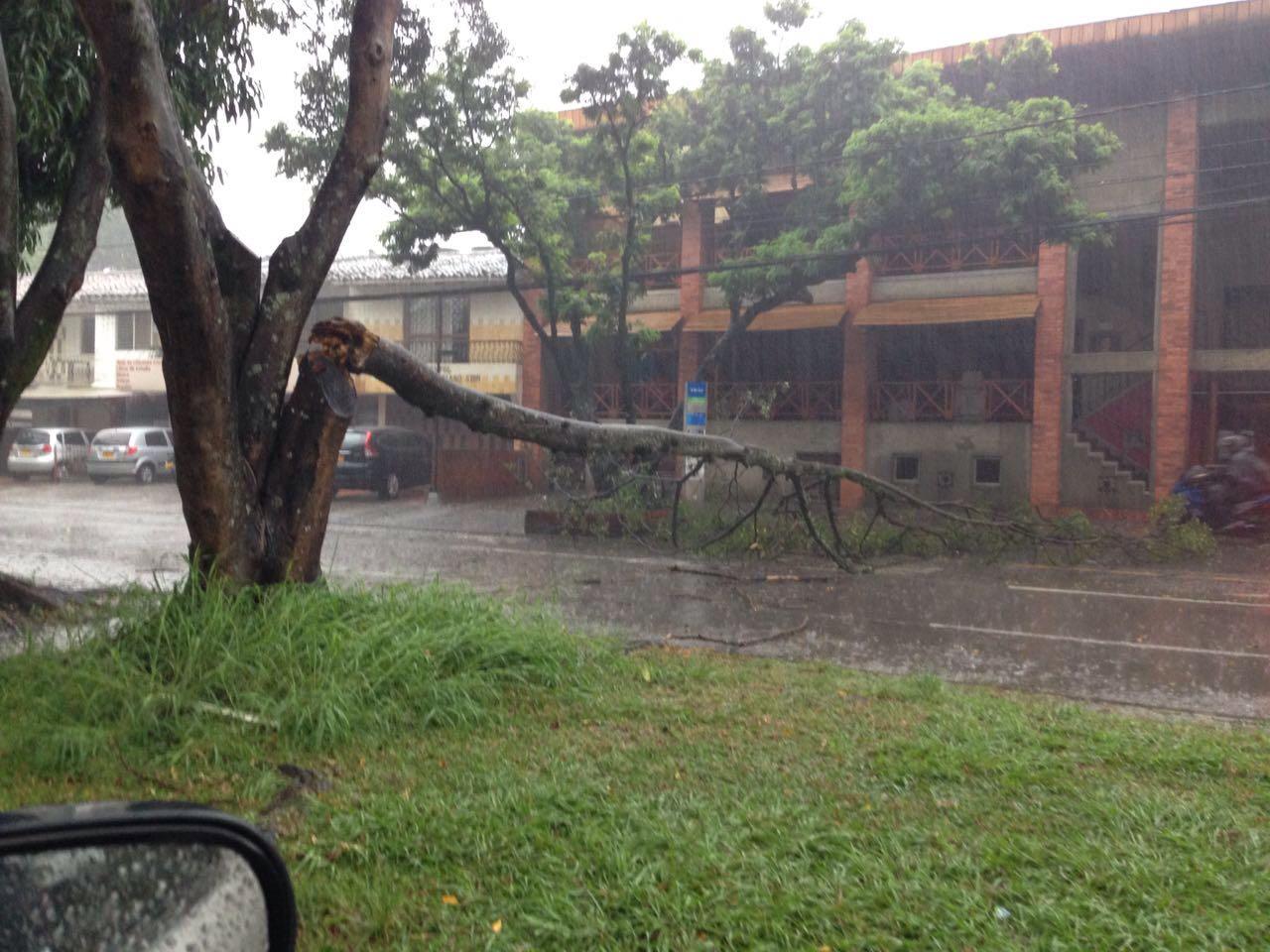 Sin energía amanecieron algunos barrios de Cali tras fuertes lluvias