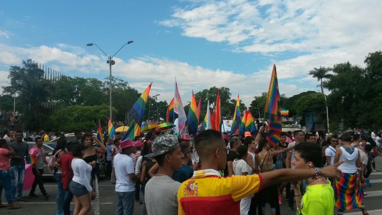 Comunidad LGBTI marchó en Cali por el derecho a la diversidad