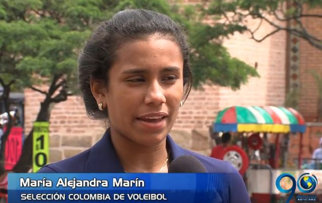 Robaron pertenencias a jugadora de la selección Colombia de voleibol