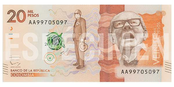 Nuevo billete de $20.000 circulará desde el 30 de junio