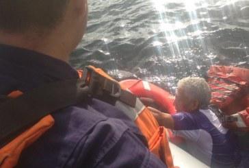 Armada Nacional rescató a un pescador que naufragó en aguas del Chocó