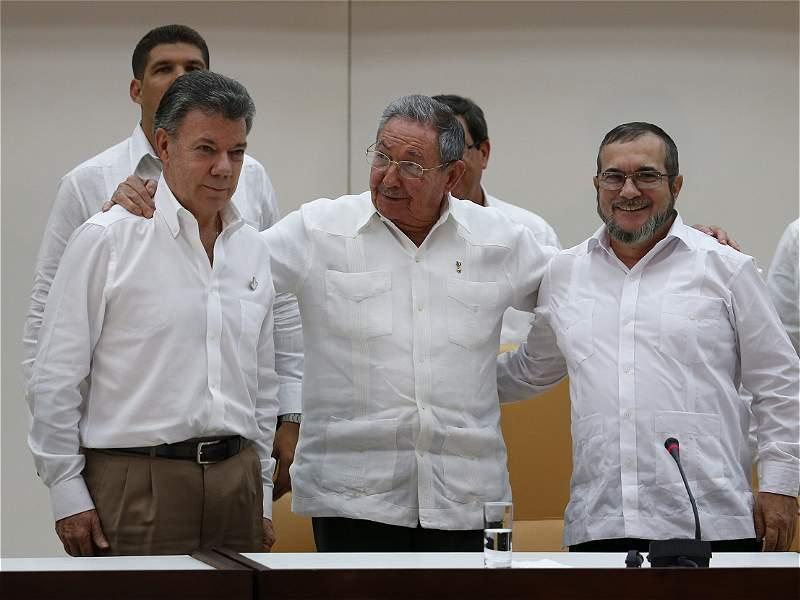 Gobierno y Farc acordaron punto de fin del conflicto
