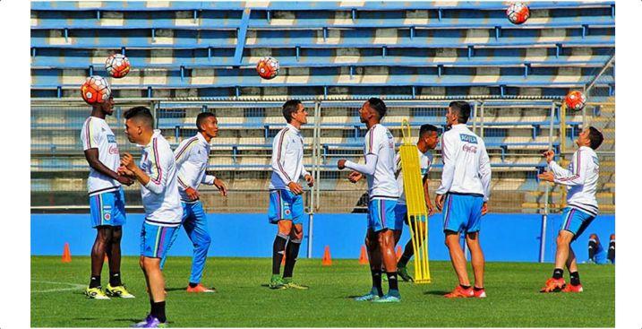 Posible formación de la Selección Colombia ante Paraguay