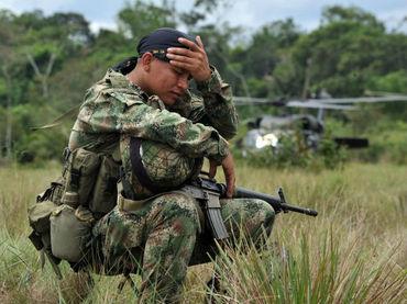 Polémica tras muerte de un soldado en combates con las Farc en el Meta