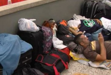 Cien personas siguen represadas en la terminal de Cali