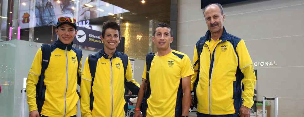 Inicia el sueño Olímpico para Colombia en el ciclismo de ruta