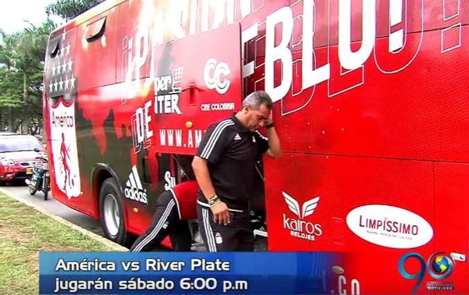 América viajó a EE.UU. para enfrentar a River Plate en un amistoso en Miami