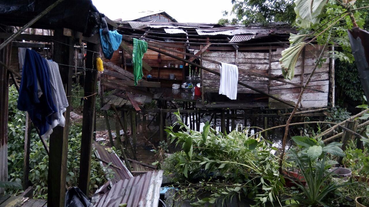 Por fuerte vendaval declaran calamidad pública en Quibdó, Chocó