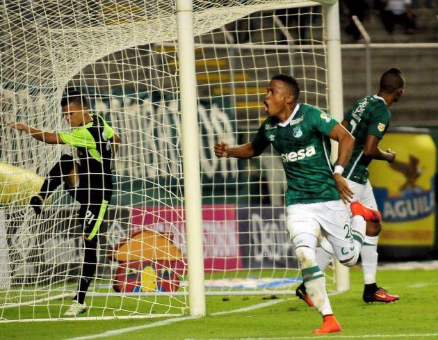 Deportivo Cali empató a un gol con la Equidad en el estadio Palmaseca