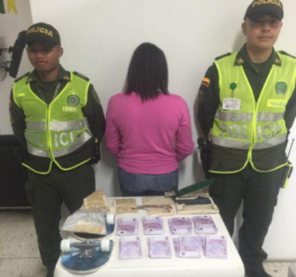 Capturan a mujer que transportaba 200 mil euros  en el Aeropuerto de Cali