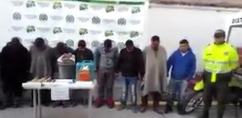 Capturan a doce personas por intentar bloquear una vía en Nariño