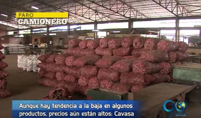 Alimentos en Cavasa comienzan a tener una reducción en sus precios