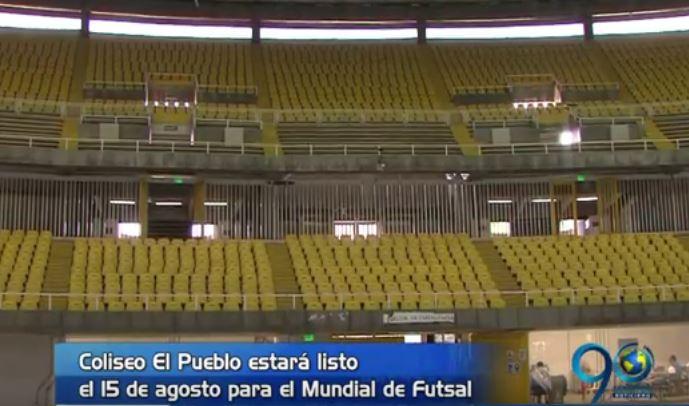 La Fifa visitó el Coliseo del Pueblo de cara al Mundial de Futsal