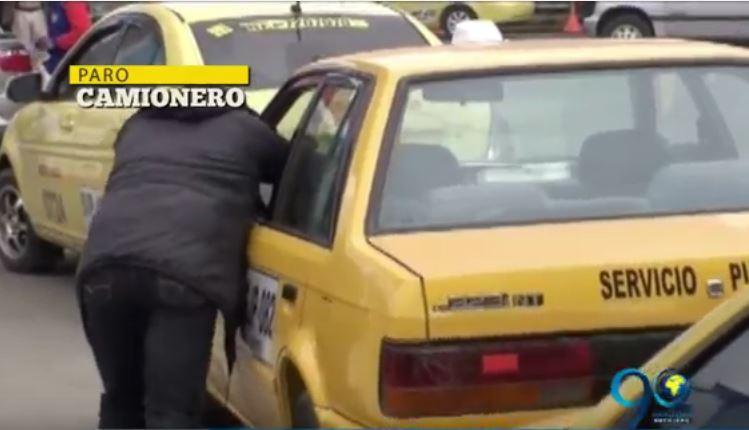 Crece el desabastecimiento de combustible en Nariño debido al Paro Camionero