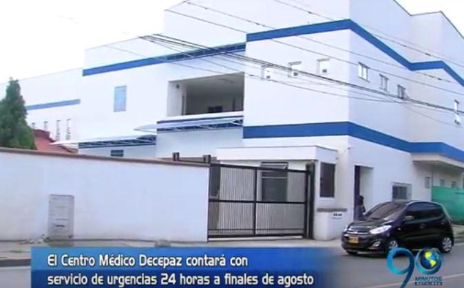 En un mes estaría lista la nueva sede de la Red de Salud en Desepaz