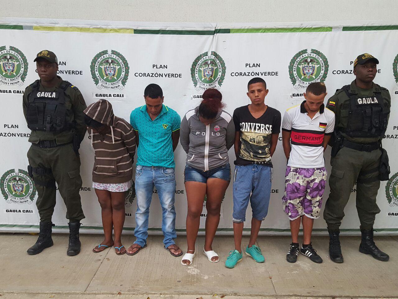 Policía capturo integrantes de bandas dedicadas a la extorsión