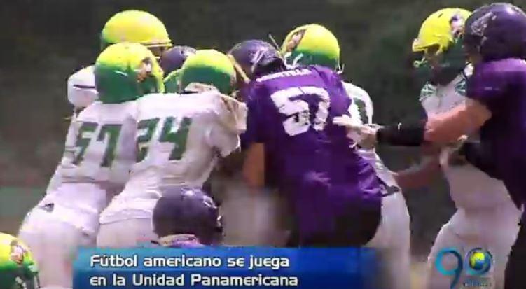 En Cali se disputa el Campeonato Nacional de Fútbol Americano