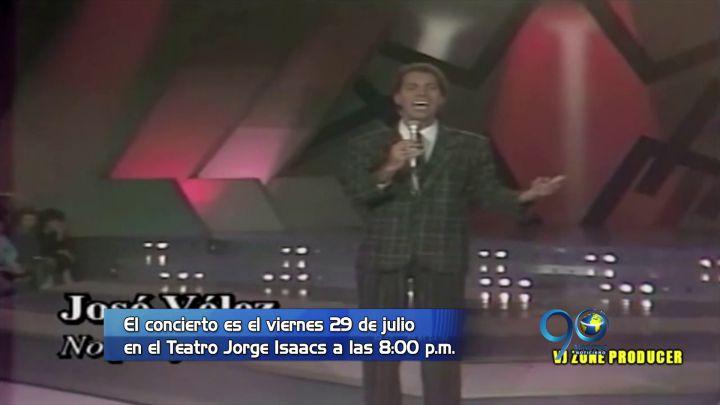 El cantante español José Vélez llega a Cali y así podrás verlo