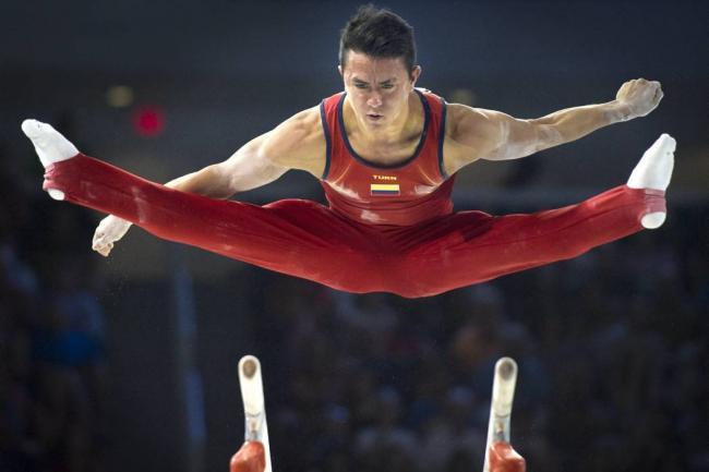 El gimnasta Jossimar Calvo portará la bandera del país en Río 2016