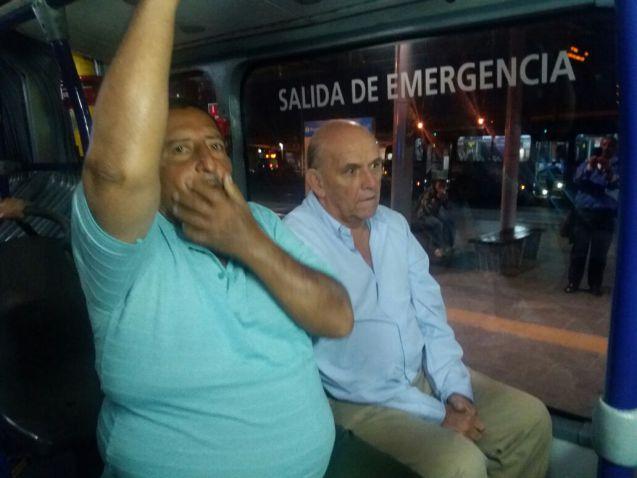 El Alcalde Maurice Armitage recorrió en Mío las calles de la ciudad
