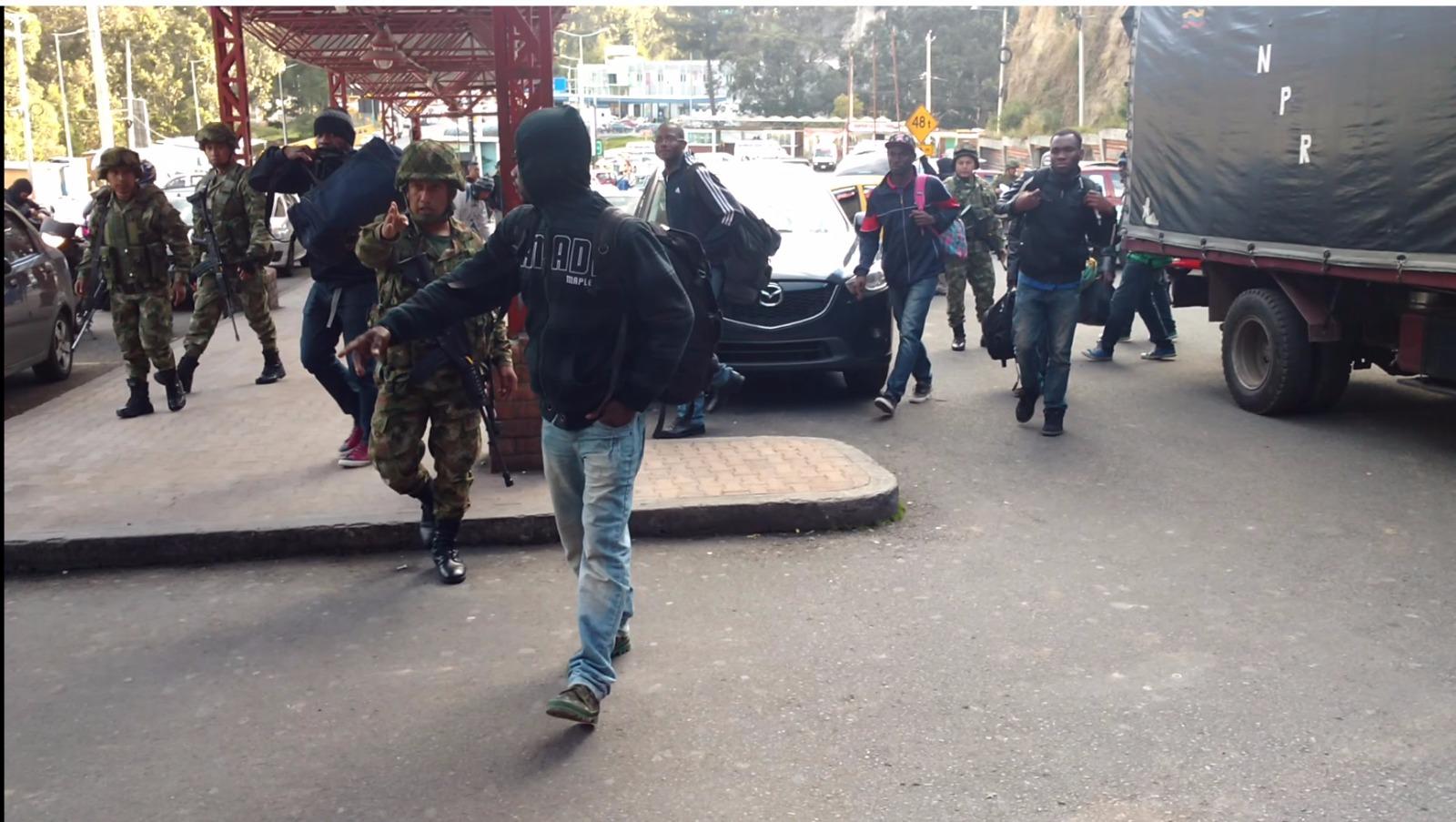 Operativo contra la trata de migrantes dejó cuatro capturados en Nariño