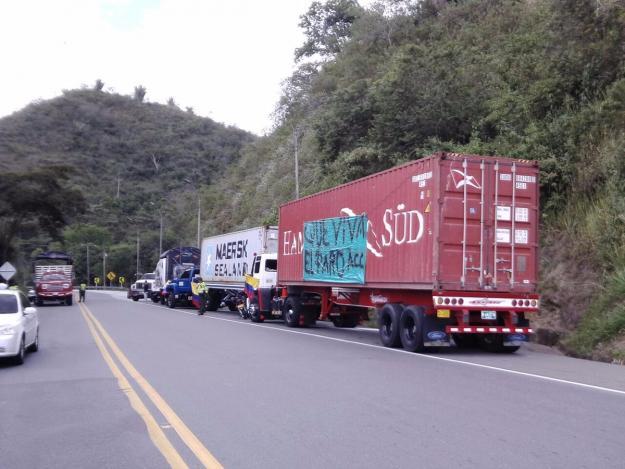 Paro Camionero provocó aumento de la inflación en Colombia: Gobierno
