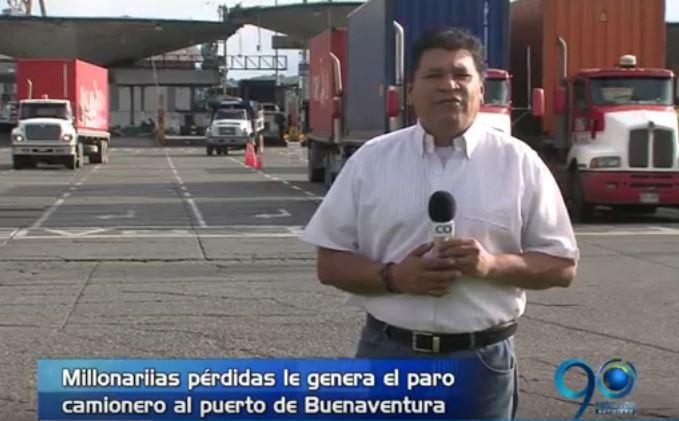 El Puerto está a punto de colapsar a causa del Paro Camionero