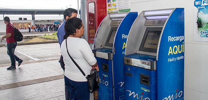 Metrocali anunció nuevos puntos para recargar tarjeta Mío